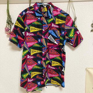アベイシングエイプ(A BATHING APE)のhumanmade pennant shirt ペナント シャツ 総柄(シャツ)