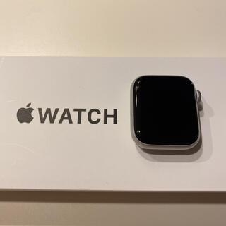 アップル(Apple)のApple Watch SE 40mm ほぼ未使用 Apple care+付(その他)