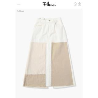 ロンハーマン(Ron Herman)の2021SS今期完売 RH Vintage Patch Long Skirt(ひざ丈スカート)