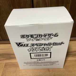 ポケモン(ポケモン)のイーブイヒーローズ v maxスペシャルセット 未開封新品 白箱入り 6ボックス(Box/デッキ/パック)