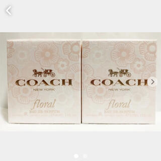 コーチ(COACH)の未開封☆ COACH コーチ フローラル 30ml ×2本セット(香水(女性用))