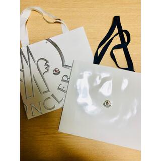 モンクレール(MONCLER)のモンクレール 紙袋 ショップ袋 2点(ショップ袋)