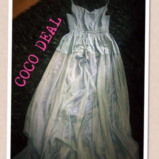 ココディール(COCO DEAL)のcoco deal ♡チュールマキシOP(ロングワンピース/マキシワンピース)