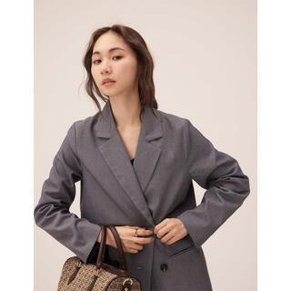 RANDEBOO RB loose jacket (gray)(テーラードジャケット)
