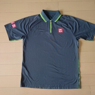 ユニクロ(UNIQLO)のユニクロ UNIQLO テニスウエア シャツ メンズ Lサイズ(ウェア)