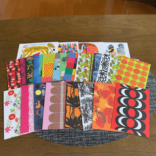 マリメッコ(marimekko)のマリメッコポストカード 24枚セット(使用済み切手/官製はがき)