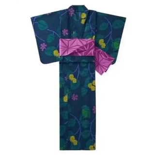 ユニクロ(UNIQLO)の新品 ユニクロ 浴衣 帯付き オッタイピイヌ レディース(浴衣)