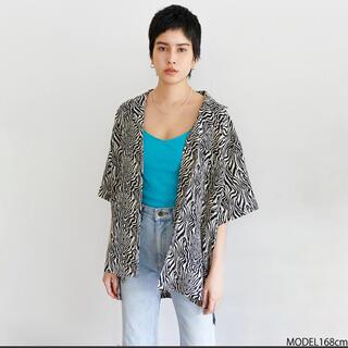 シールームリン(SeaRoomlynn)のsearoomlynn♡materialオープンカラーシャツ(シャツ/ブラウス(半袖/袖なし))
