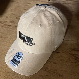 コモリ(COMOLI)のWEEKEND magazine ウィークエンド CAP キャップ (キャップ)