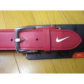 ナイキ(NIKE)の【新品】 NIKE 野球用ユニホームベルト 赤 アメリカ限定品(その他)