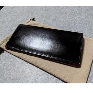 ガンゾ(GANZO)のGANZO シンブライドル ファスナー小銭入れ付き長財布(長財布)