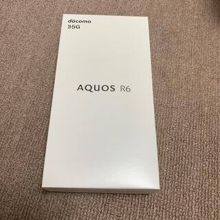 アクオス(AQUOS)のSH-51B AQUOSR6 docomo SIMフリー 新品未開封品 ブラック(スマートフォン本体)