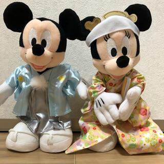 ディズニー(Disney)の結婚式 ウェディング  和装 ウェルカム ミッキー ミニー(ウェルカムボード)