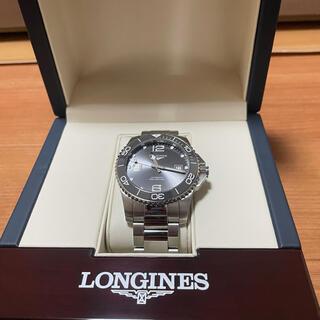 ロンジン(LONGINES)のロンジン ハイドロコンクエスト サンレイグレー自動巻 41mm (腕時計(アナログ))