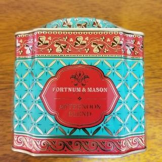 アフタヌーンブレンド ルーズリーフ茶葉 デコラティブ缶(茶)