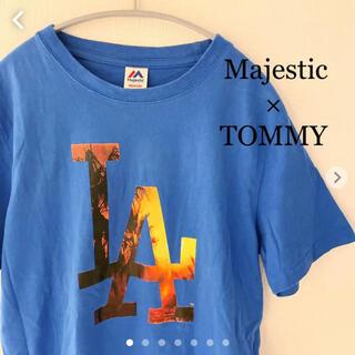 トミー(TOMMY)のマジェスティック(Majestic)× トミー(TOMMY) LA Tシャツ (Tシャツ/カットソー(半袖/袖なし))