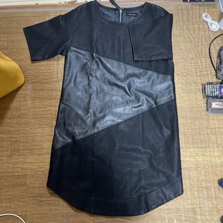 エゴイスト(EGOIST)のEGOIST ワンピース free black 黒 シャツワンピ (ミニワンピース)