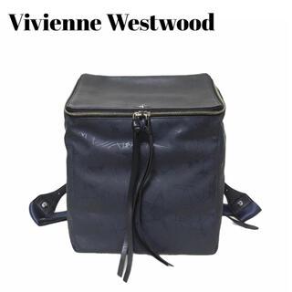 ヴィヴィアンウエストウッド(Vivienne Westwood)のヴィヴィアンウエストウッド ファーレルニッサ リュック バッグ ネイビー(リュック/バックパック)