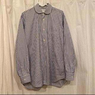 コムデギャルソンオムプリュス(COMME des GARCONS HOMME PLUS)のcomme des garcons shirt 丸襟ストライプ(シャツ)