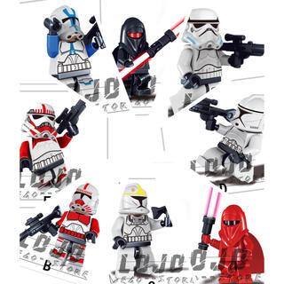 開封済 LEGO互換製品 スタウォーズ 風 ミニフィグ おもちゃ 組み立て(キャラクターグッズ)