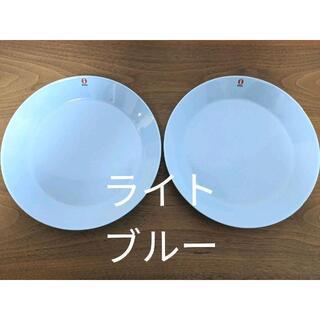 イッタラ(iittala)のねてるちゃん専用ティーマ ライトブルー プレート21㎝ 2枚 新品       (食器)