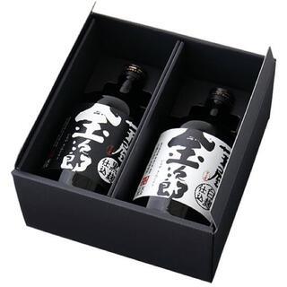 芋焼酎2本セット 白麹 黒麹 芋屋金次郎(焼酎)