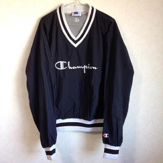 チャンピオン(Champion)の80s~90s vintage❗️Champion Vネックナイロンブルゾン(ナイロンジャケット)