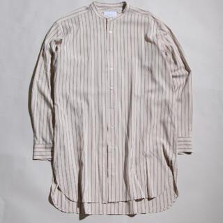MBロングストライプシャツ ホワイト(シャツ)
