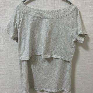Sweet mommy マタニティ&授乳Tシャツ(マタニティトップス)