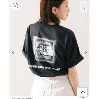 イエナスローブ(IENA SLOBE)のスローブイエナ   ノースフェイスTシャツ(Tシャツ/カットソー(半袖/袖なし))
