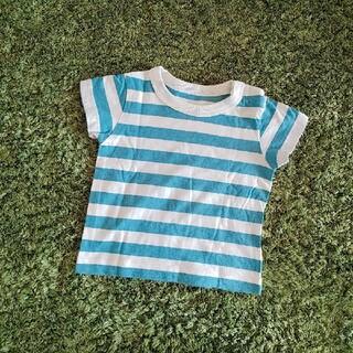 ムジルシリョウヒン(MUJI (無印良品))の【超美品】無印良品のボーダーTシャツ(Tシャツ)