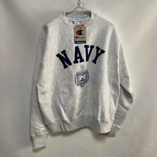 新品 アメリカ海軍 USNA リバースウィーブ champion製m