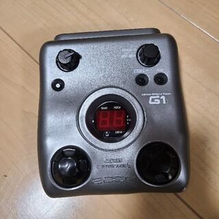 【ジャンク品】ZOOM ズーム G1 ギターエフェクター(エフェクター)