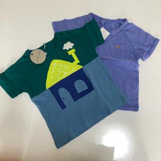 サマンサモスモス(SM2)の95 100サイズ 2枚まとめ売り(Tシャツ/カットソー)
