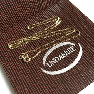 ウノアエレ(UNOAERRE)の18金ネックレス(チェーン)ウノアエレ✨ご売約のお品物です。(ネックレス)