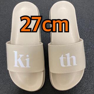 シュプリーム(Supreme)のKith Serif Summer Slides Canvas 27.0cm(サンダル)