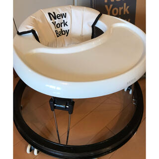 カトージ(KATOJI)のベビーウォーカー マット付き 歩行器 KATOJI New York Baby(歩行器)