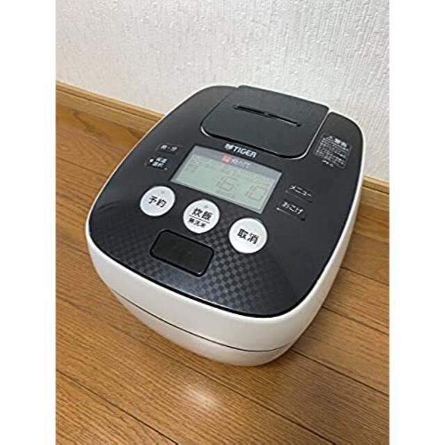 TIGER(タイガー)のタイガー 炊飯器 5.5合 圧力 IH クールホワイト JPB-G101-WA  スマホ/家電/カメラの調理家電(炊飯器)の商品写真