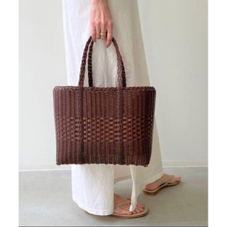 L'Appartement パロローサLace Tote Bag (S)