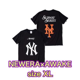 ニューエラー(NEW ERA)のニューエラ AWAKE Tシャツ XL NEWERA アウェイク(Tシャツ/カットソー(半袖/袖なし))