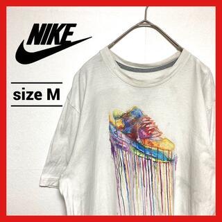 ナイキ(NIKE)の90s 古着 ナイキ Tシャツ エアーマックス ワンポイントロゴ スウッシュ M(Tシャツ/カットソー(半袖/袖なし))