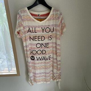 ロキシー(Roxy)のロキシー ワンピース Tシャツ(ひざ丈ワンピース)