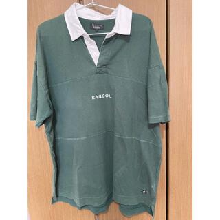 カンゴール(KANGOL)の【KANGOL】半袖ラガーシャツ【ZIPFIVE】(ポロシャツ)