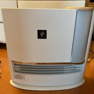 SHARP - 美品 加湿 セラミック ファンヒーター HX-G120-C  プラズマクラスター