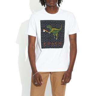 コーチ(COACH)の【日本限定】レキシー プレイ シグネチャー Tシャツ オーガニック コットン(Tシャツ/カットソー(半袖/袖なし))