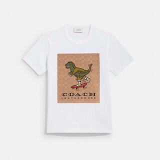 コーチ(COACH)の【日本限定】シグネチャー スケートボード レキシー Tシャツ(Tシャツ(半袖/袖なし))
