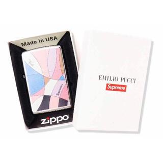 Supreme - Supreme 2021SS  Emilio Pucci Zippo Pink