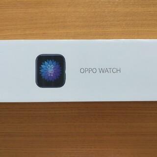 オッポ(OPPO)のOPPO Watch 41mm(Wi-Fi) ブラック(その他)