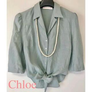 クロエ(Chloe)のchloe ブラウス(シャツ/ブラウス(半袖/袖なし))