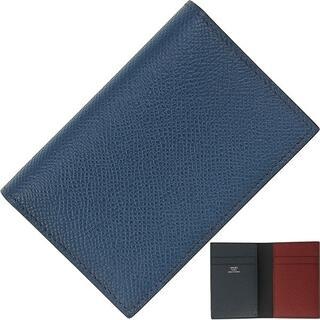 エルメス(Hermes)のHERMES カードケース メンズ 未使用 二つ折り財布 エルメス h-j683(名刺入れ/定期入れ)